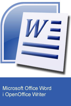 Microsoft Word i OpenOffice Writer
